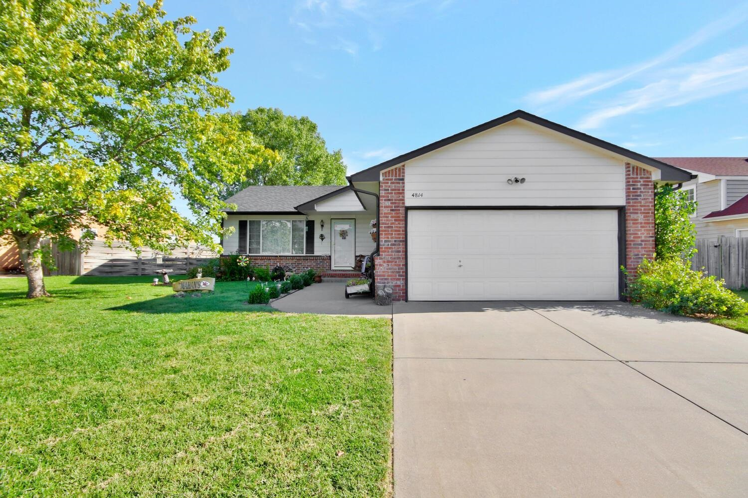 One owner home ready for new owners. This home has a covered front porch, with a great yard for ente