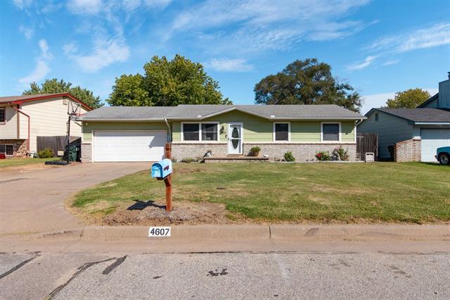 For Sale: 4607 S Washington Ct, Wichita KS