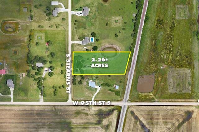 For Sale: 2.26 Acres  on Stearns St, Haysville KS