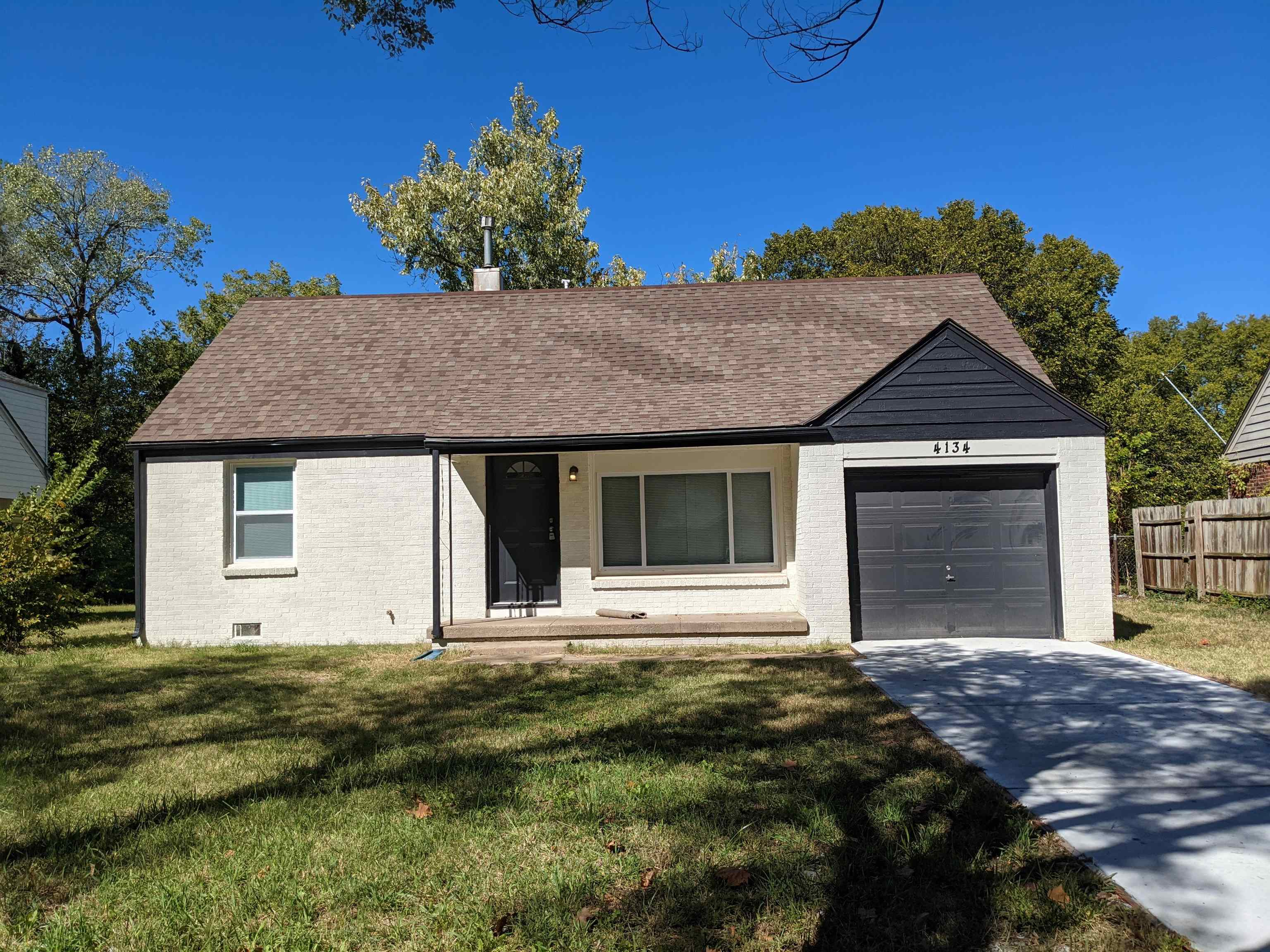 All New & Ready, 3BR 1BA 1Car garage home, just 1 short block to the University!  Full brick with lo