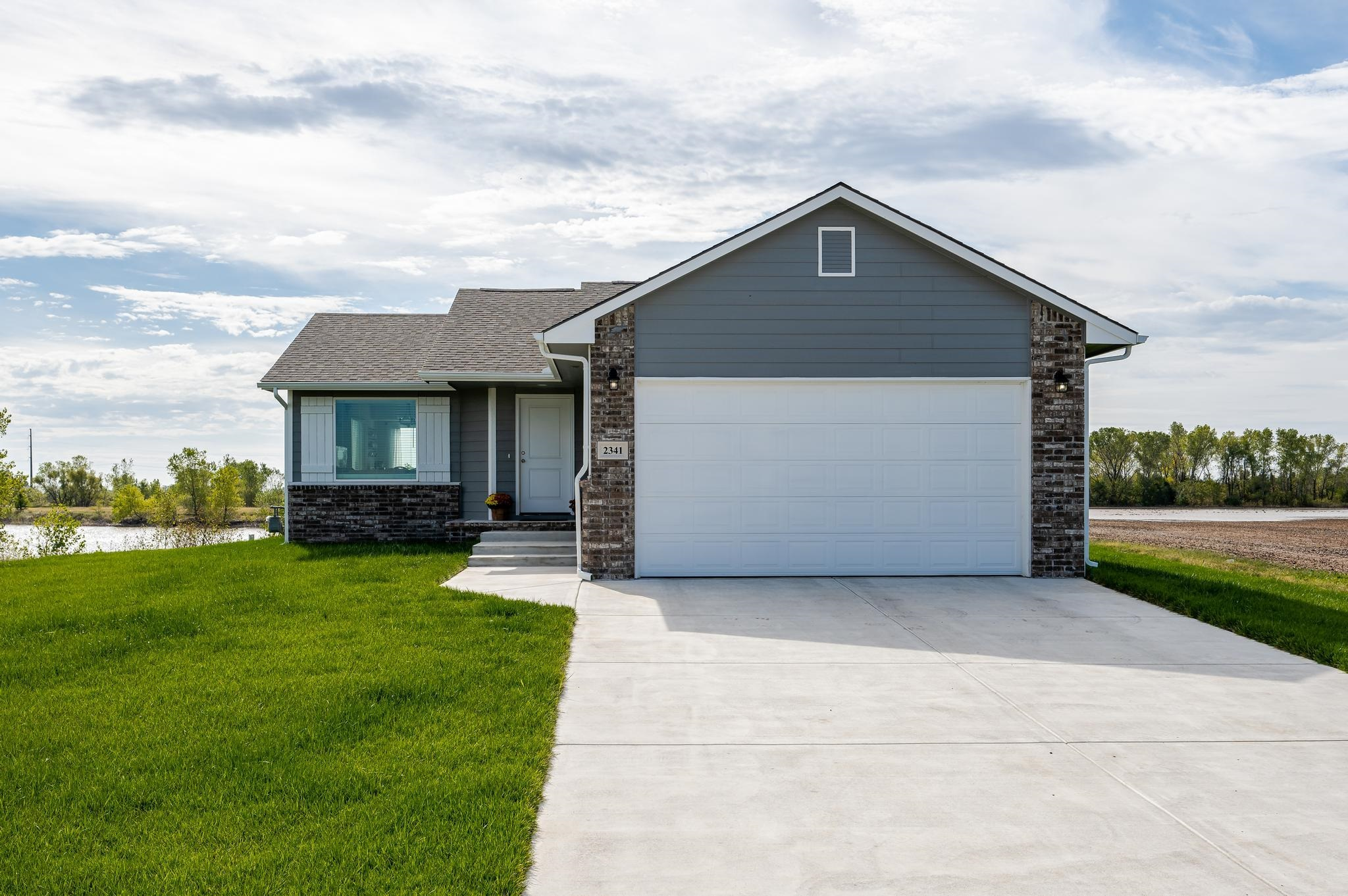 BRAND NEW CONSTRUCTION and AVAILABLE NOW!! Why wait 6-9 months, when you can move in now? Peacefully