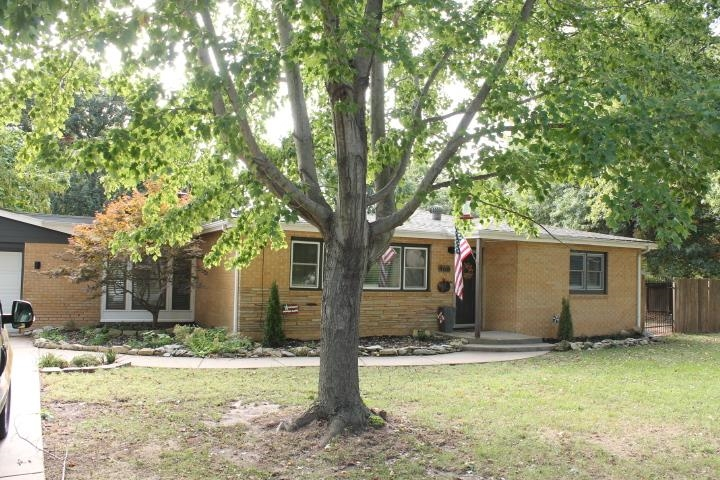 This home is absolutely charming.  Beautiful mature trees.  Brick ranch w/3bedrooms.  Open floor pla