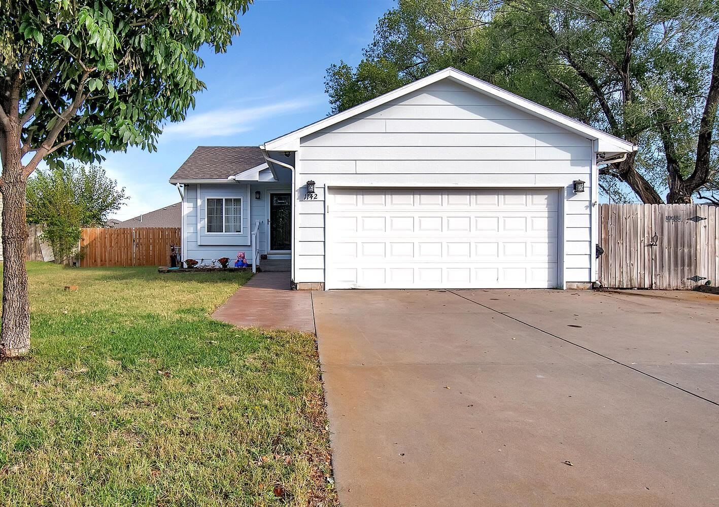Welcome Home to this 3 bedroom 2 bath 2 car garage South Wichita home. It features updated kitchen a