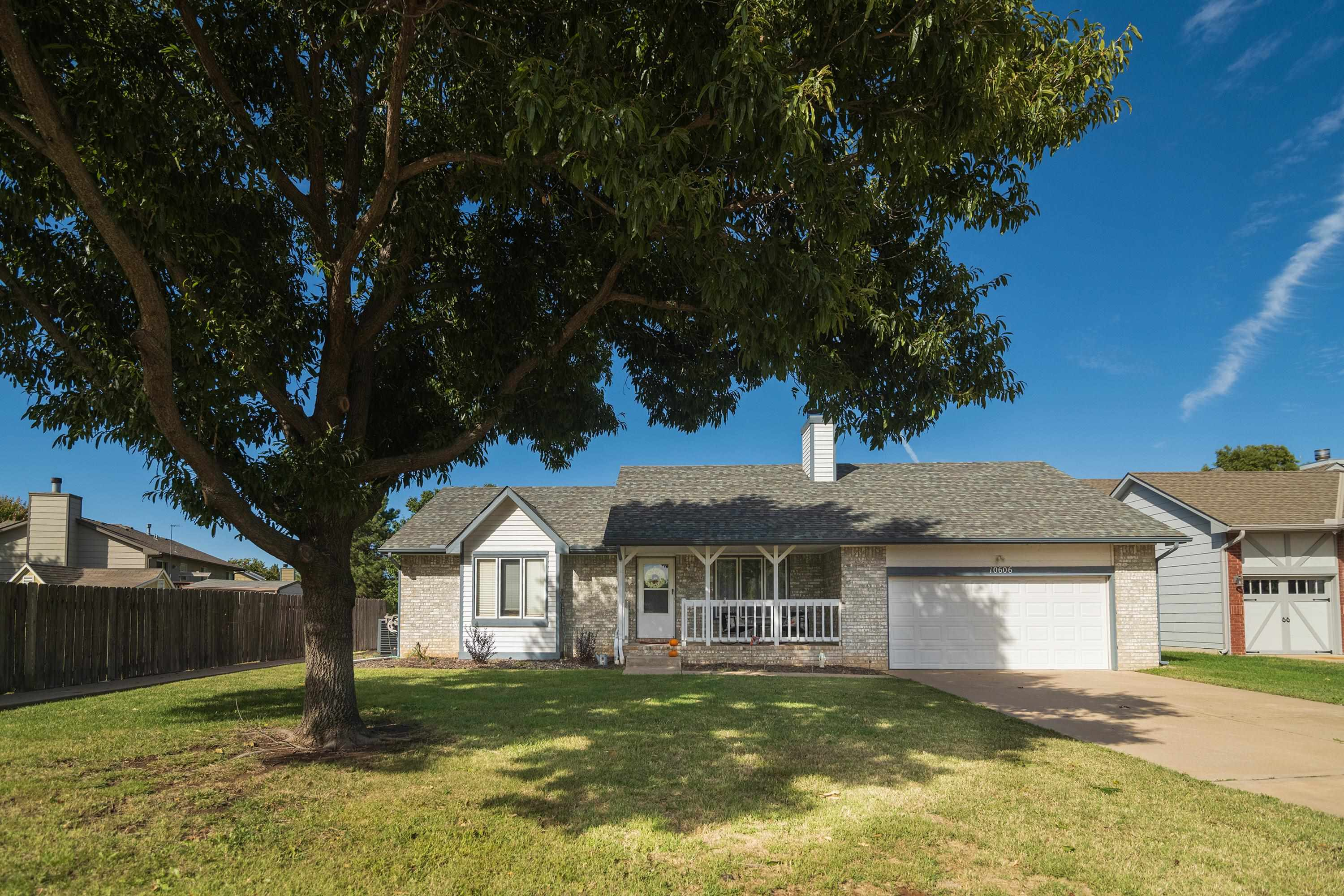 What a cozy ranch with an inviting front porch, mature trees and nice landscaping! This 3 BR 2 BA 2