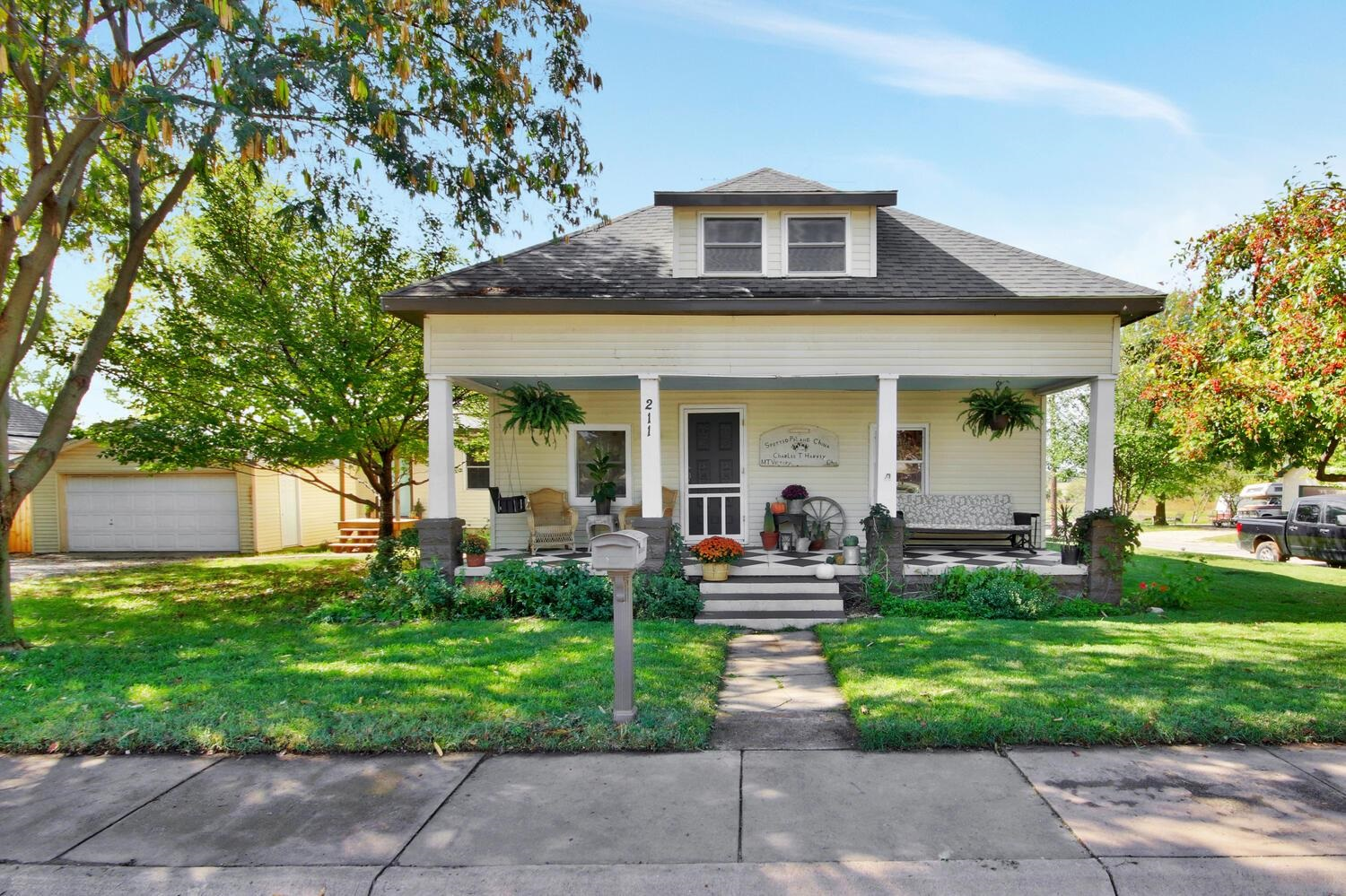 This amazing 3 bedroom, 2 bath, Mulvane Bungalow is truly a jewel and will remind you of a HGTV reno