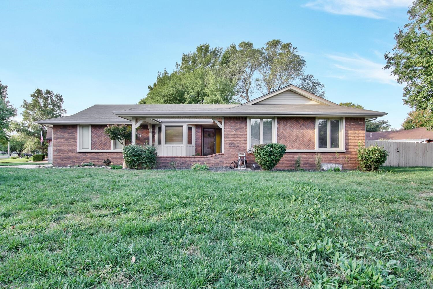 Welcome home! 1739 N Lark Lane is a beautiful 4 bedroom and 3 bath ranch house with full basement th
