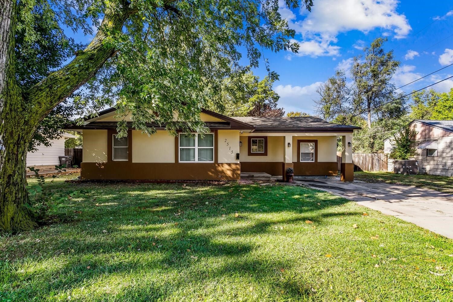 Welcome to this move-in ready home. This home features 4 bedroom, 2 bathroom and beautiful covered d