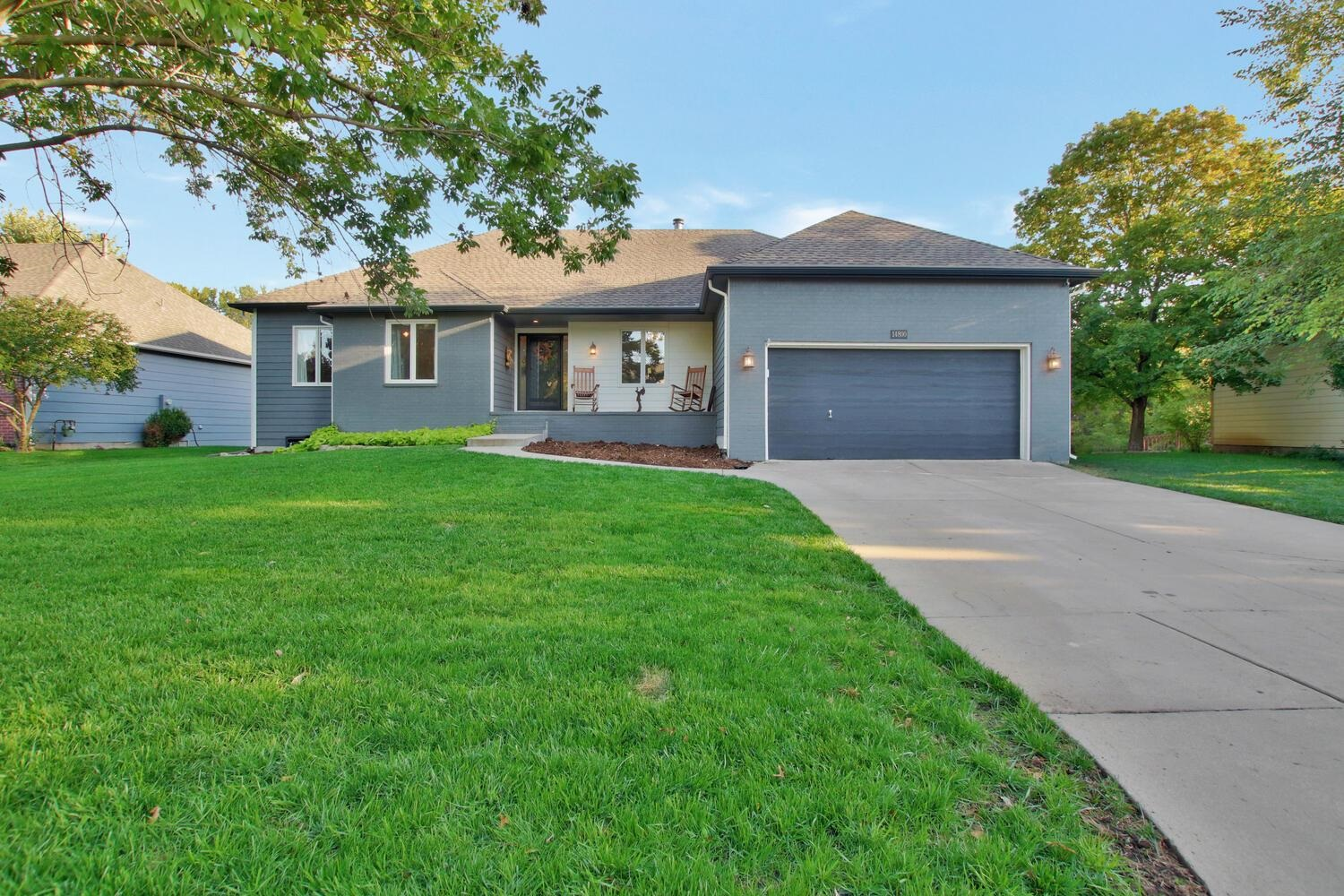 Immaculate home in a great neighborhood on a large lot with wooded creek view! This move-in ready pr