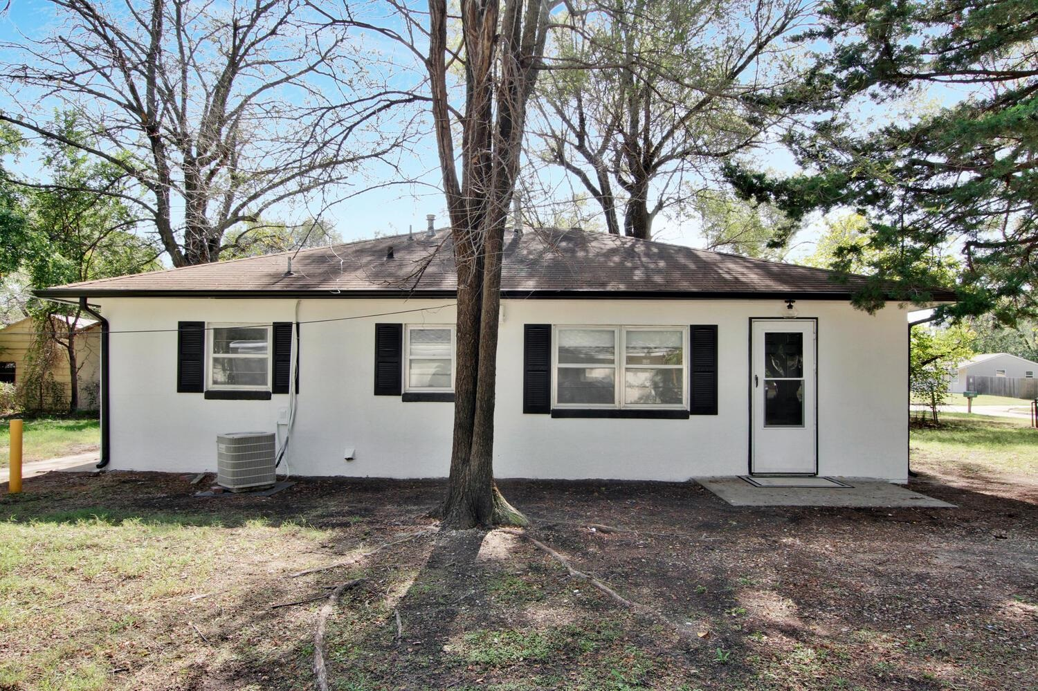 Recently updated 3 bed 1 bath cutie of a home! Sits right between three large mature trees for shade
