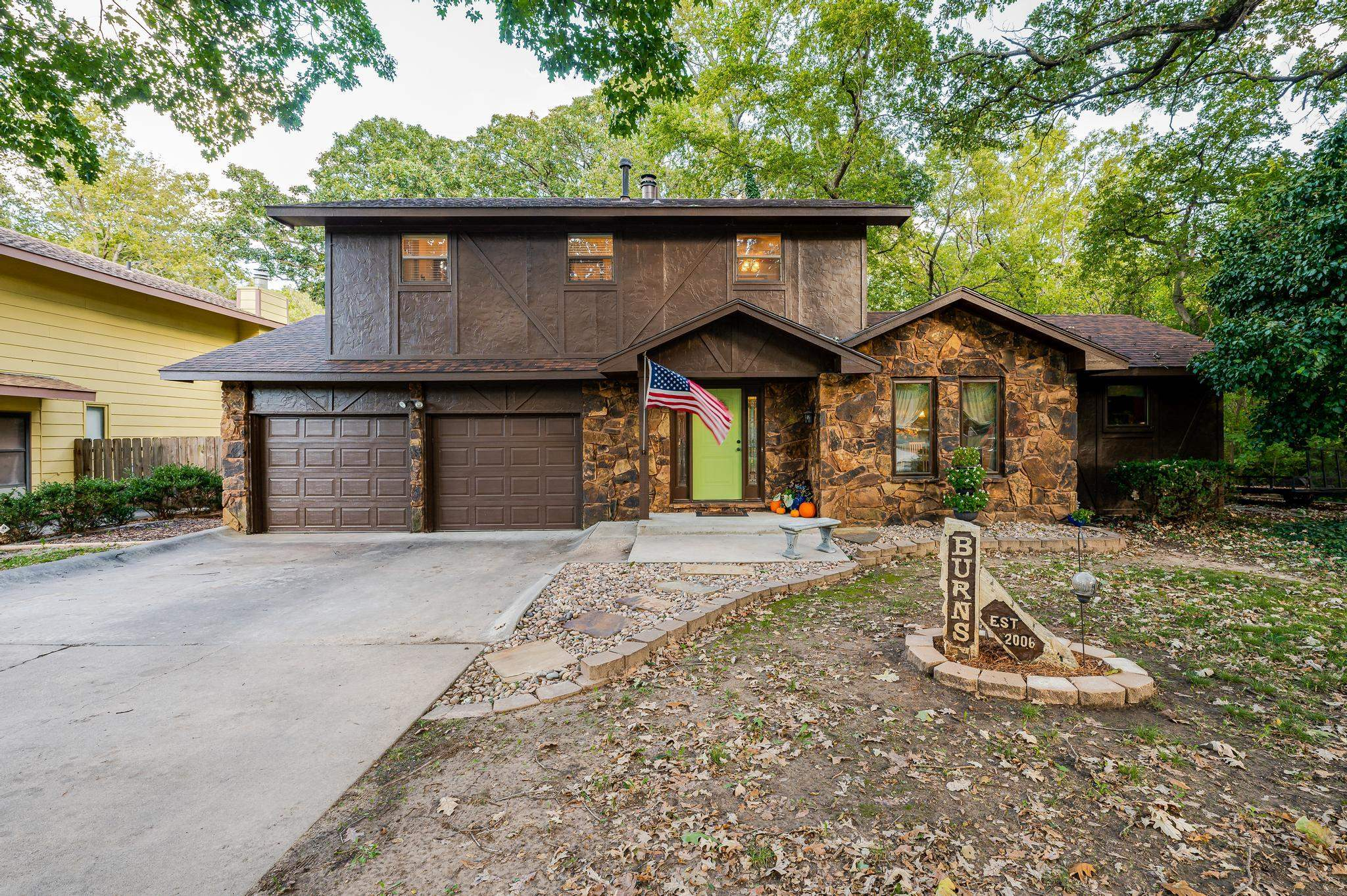 You are going to love the large secluded location of this beautiful remodeled home. New floors throu