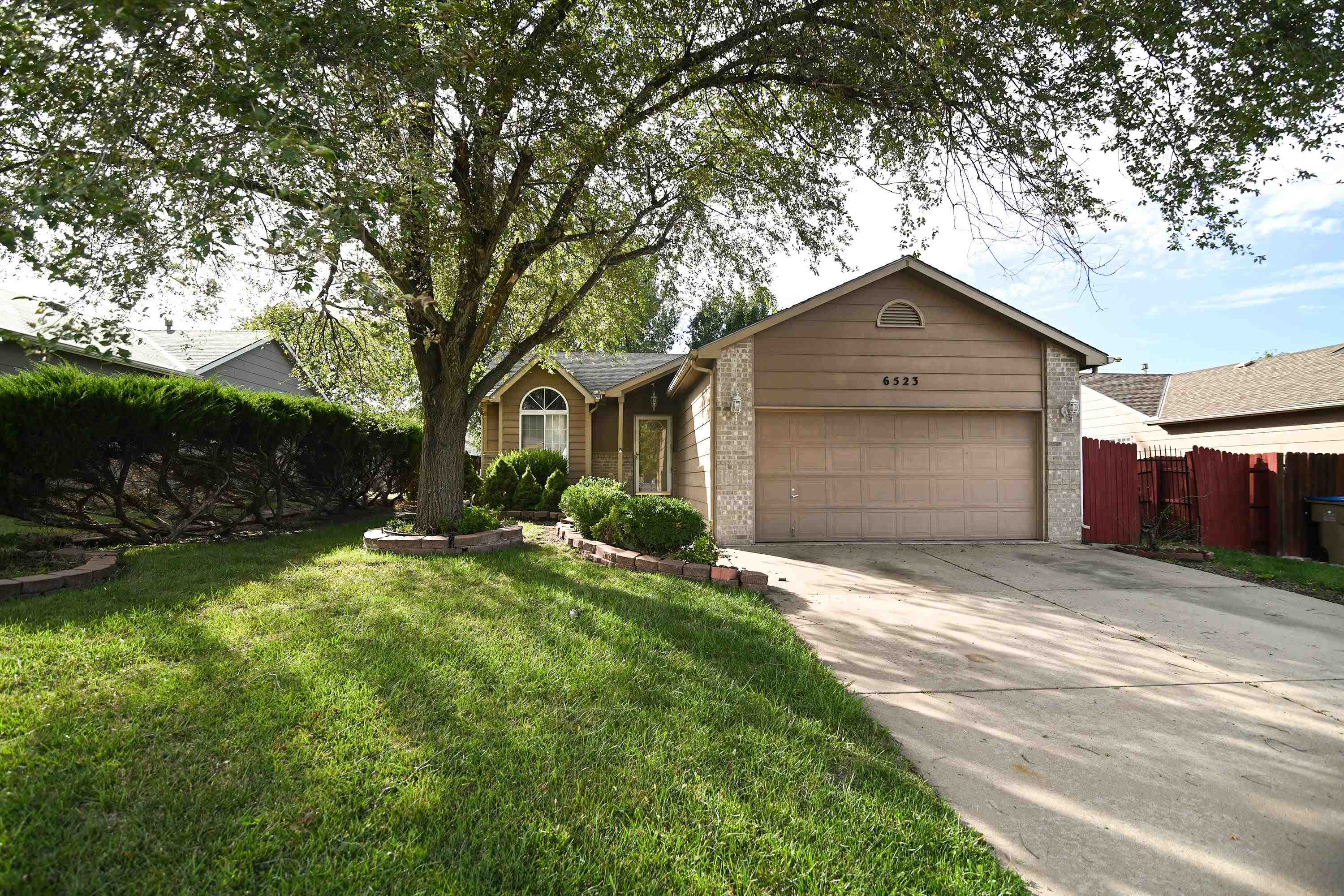 This cozy 3 Bedroom 2 Bath 2 Car Ranch in quiet Park City would be a great choice for a starter home