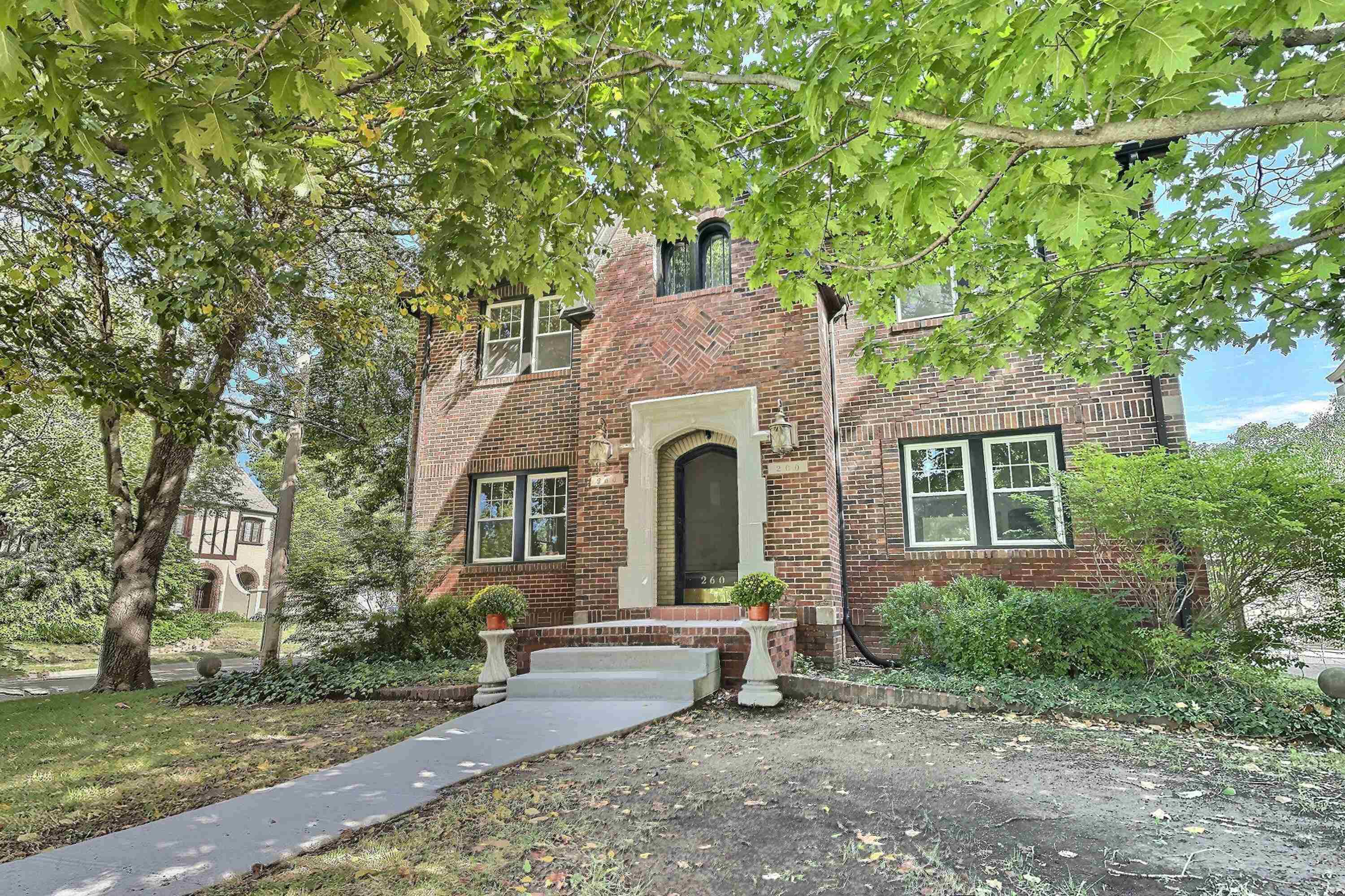Absolutely stunning home in the College Hill area on a corner lot at 2nd and Terrace!  Extensive ren
