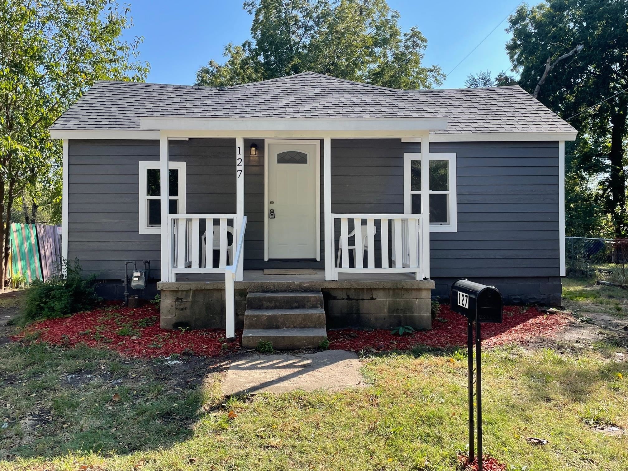 Come check out this cute 2 bedroom, 1 bath house! This home has been brought up to the 2021 (Electri