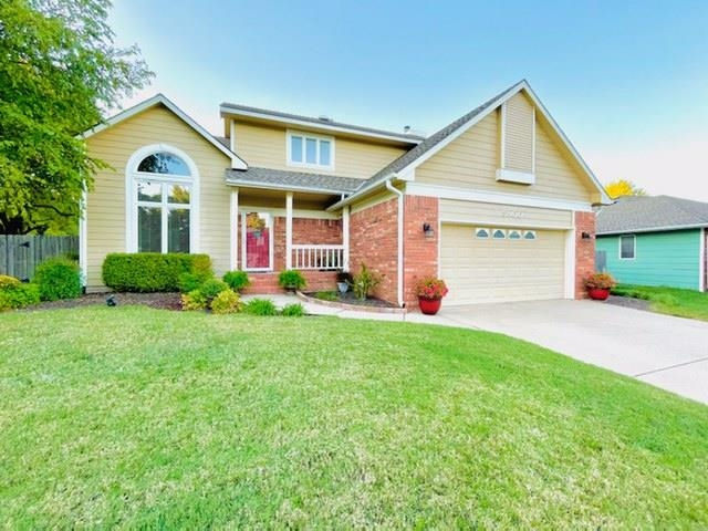 Amazingly nice traditional 1.5 story home in popular Bel Aire Heights Addition.  Open the front door