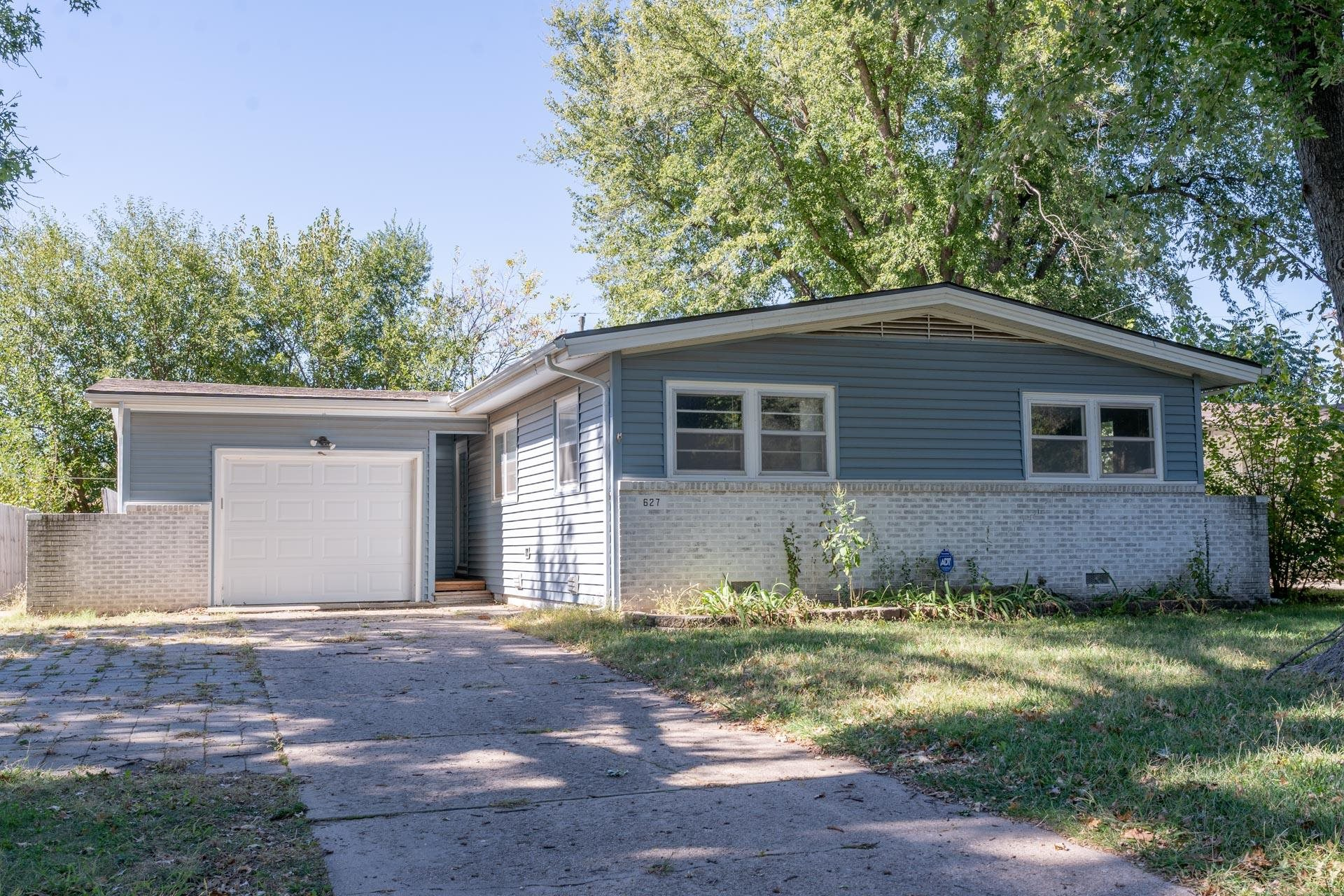Welcome to your new home! This wonderful, well cared for Derby ranch has three bedrooms, features a