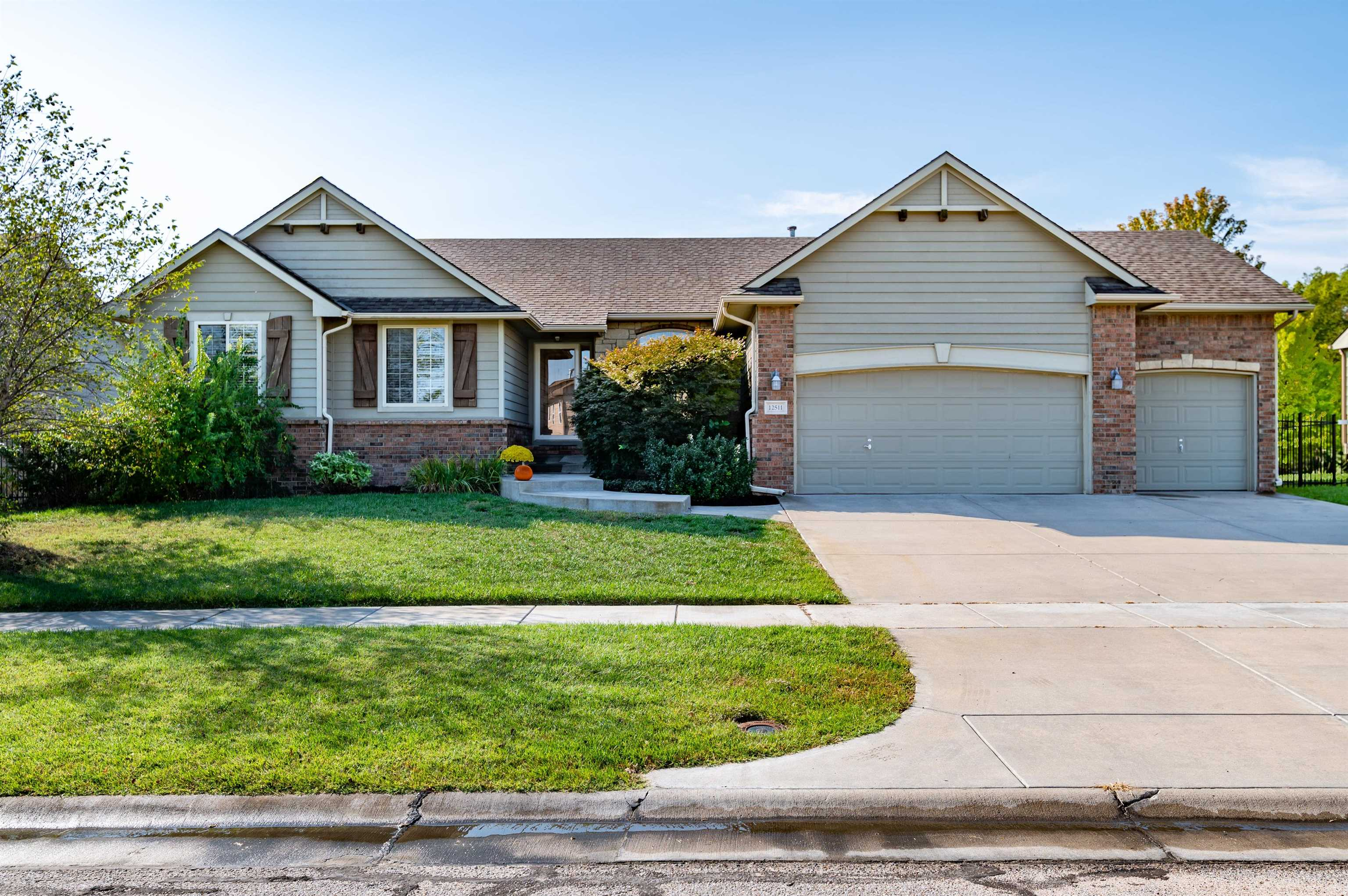 Beautiful home with over 2,600 square feet with 4 bedrooms with possible 5th bedroom in basement, 3