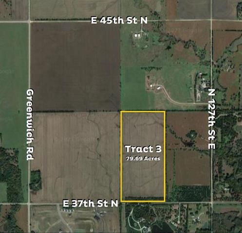 For Sale: East of N Greenwich Rd and E 37th St N – Tract 3, Wichita KS