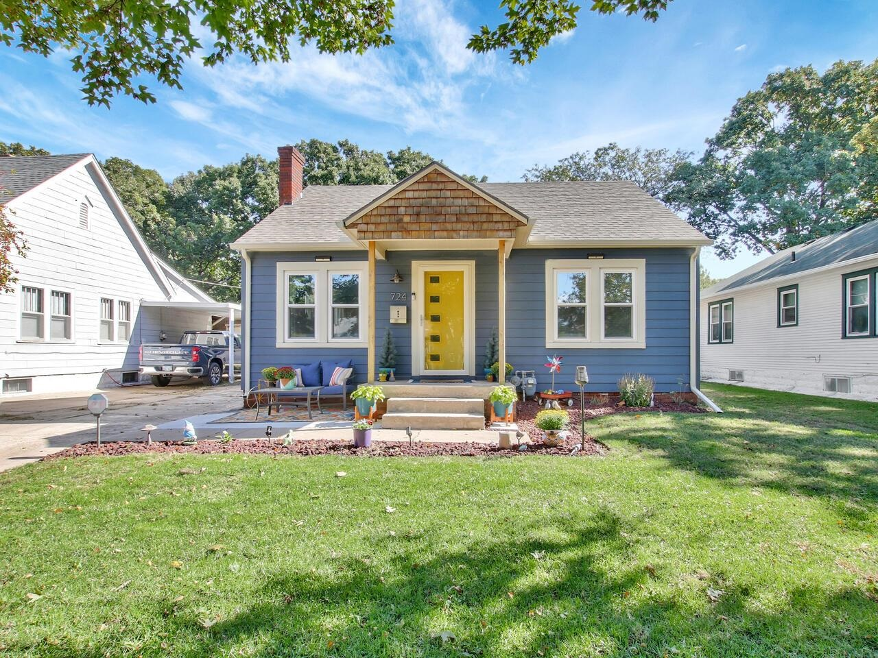 Welcome to your new home! This 3 bedroom, 1 bath, 1 car garage home has been wonderfully improved up