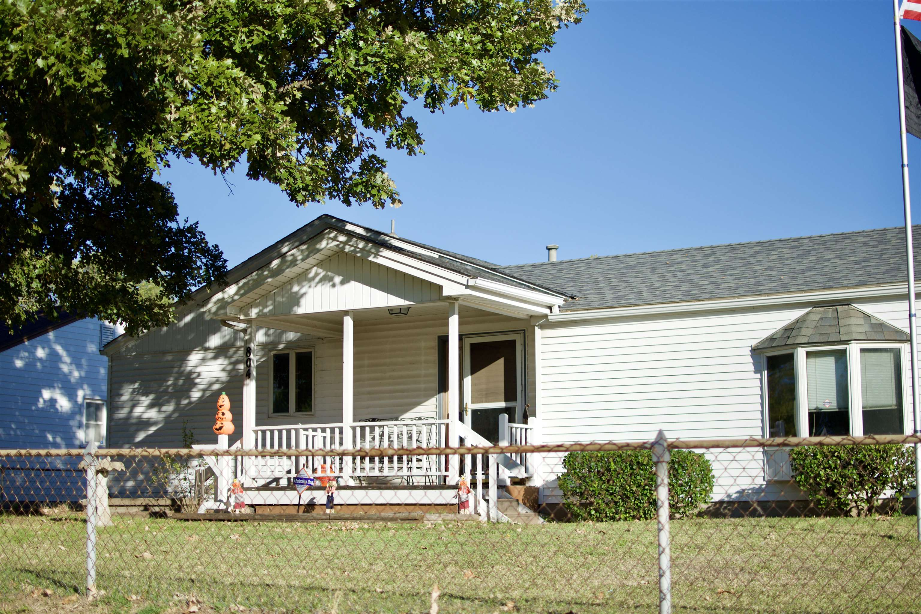 Come see this beautiful  home in this quiet South Wichita neighborhood on a large .47 acre corner lo