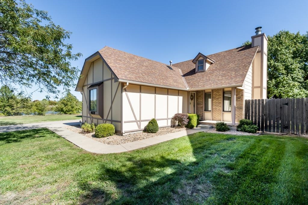 Located near beautiful lake views, this stunning three bedroom patio home is packed with features in