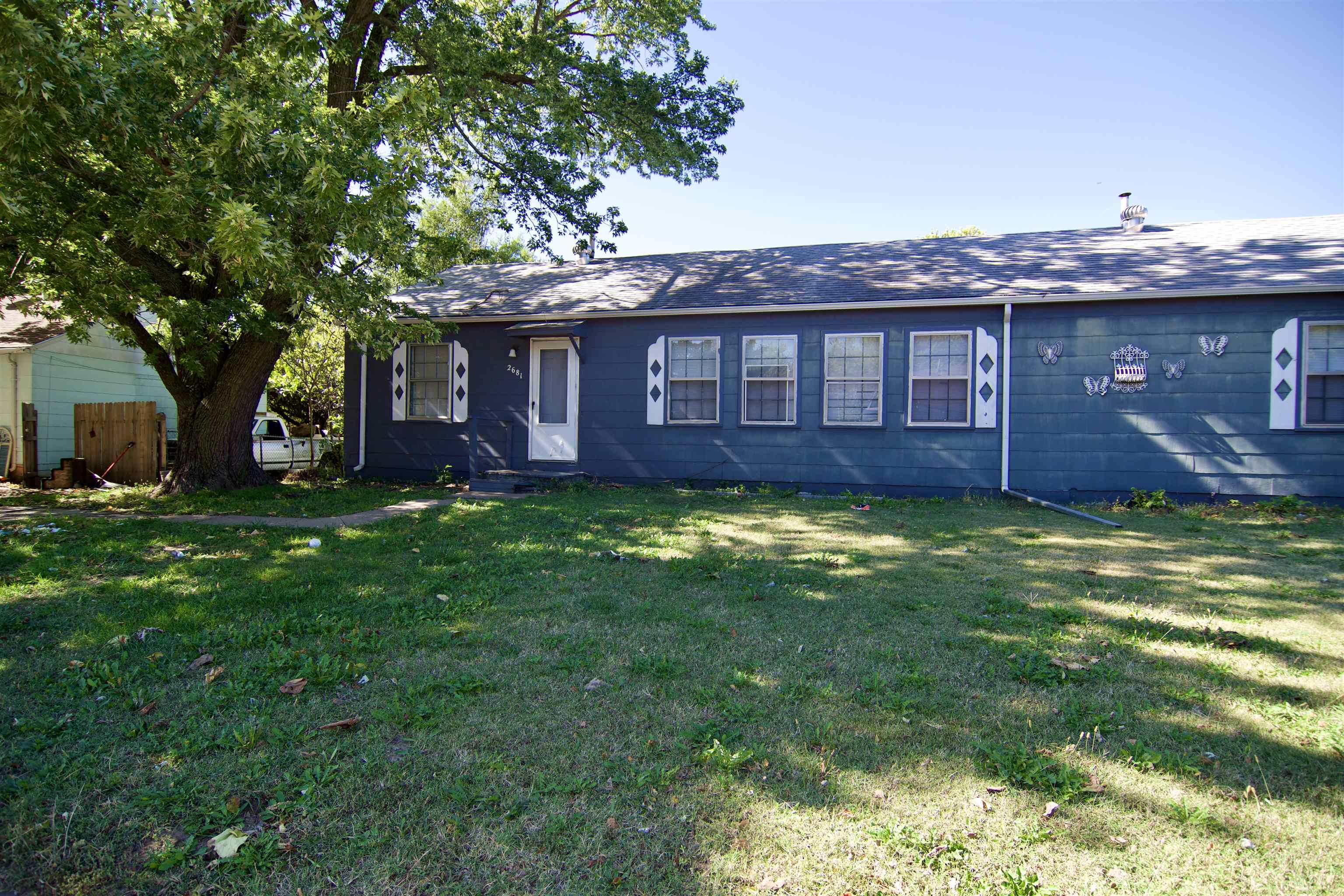 5bed, 3bath duplex w/carport on .43 acres being sold as-is. Great investment property opportunity an