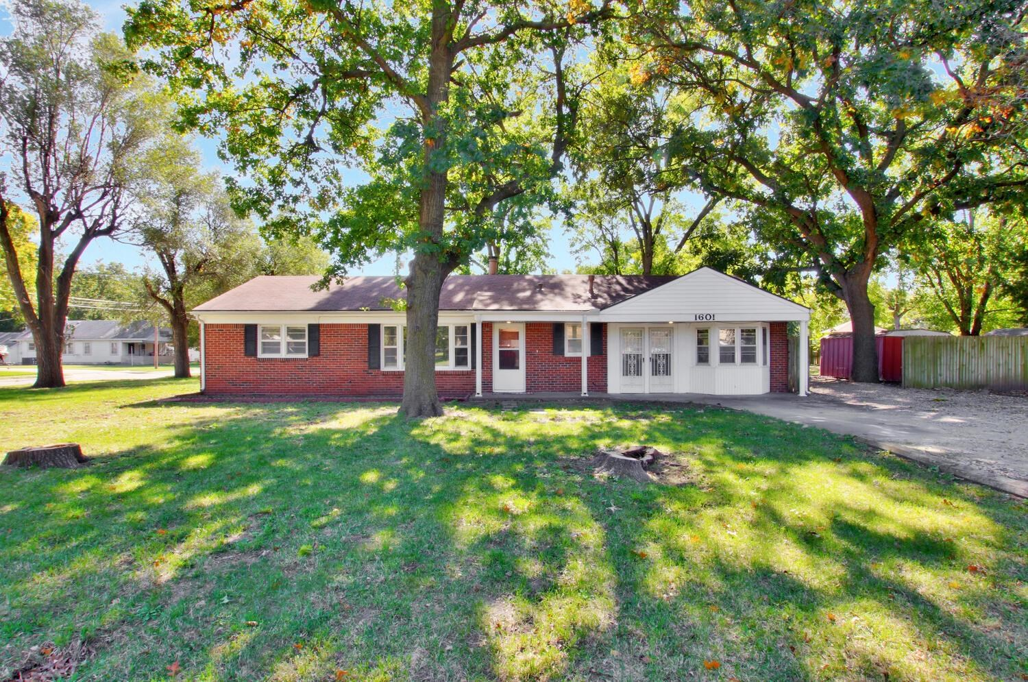 Move in ready 3BR 2 BA home in well desired neighborhood with zero entry, no HOA, and large lot with