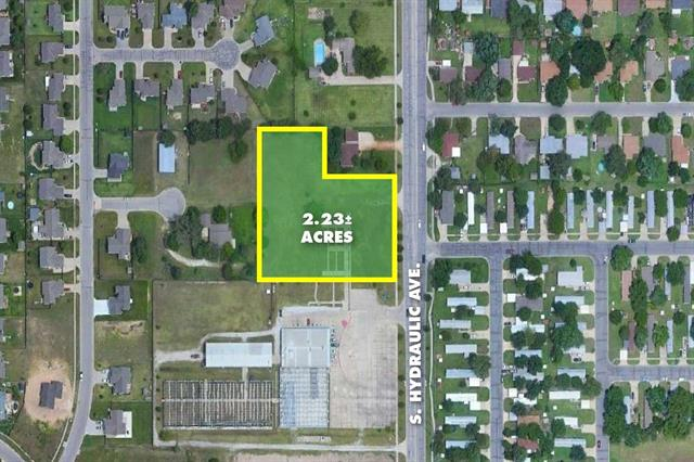 For Sale: 2.23 +/-  Acres at Hydraulic & 55th St, Wichita KS