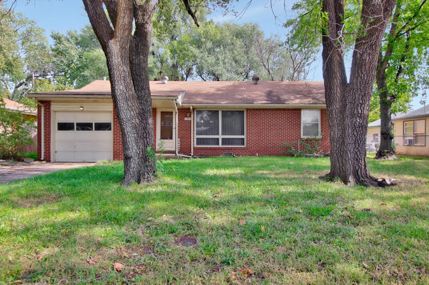 This home offers 3 bedrooms, 1 bath, 1 car attached garage and a large backyard with covered patio.