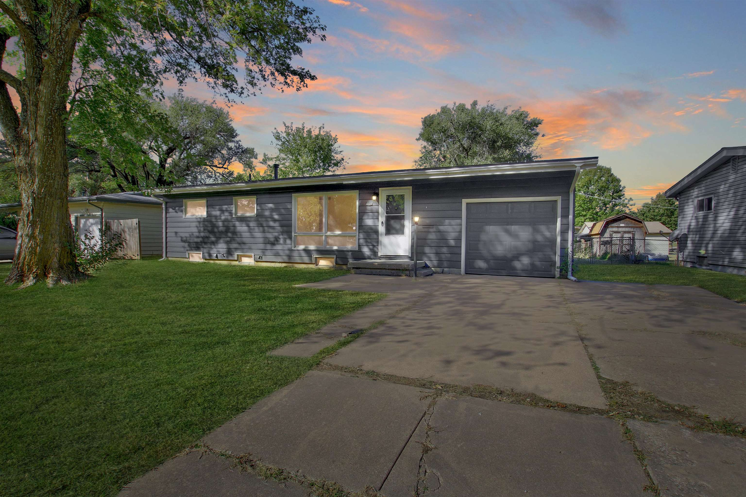 Tons of updates/upgrades in this Derby home!  The exterior has fresh paint, new roof decking, shingl