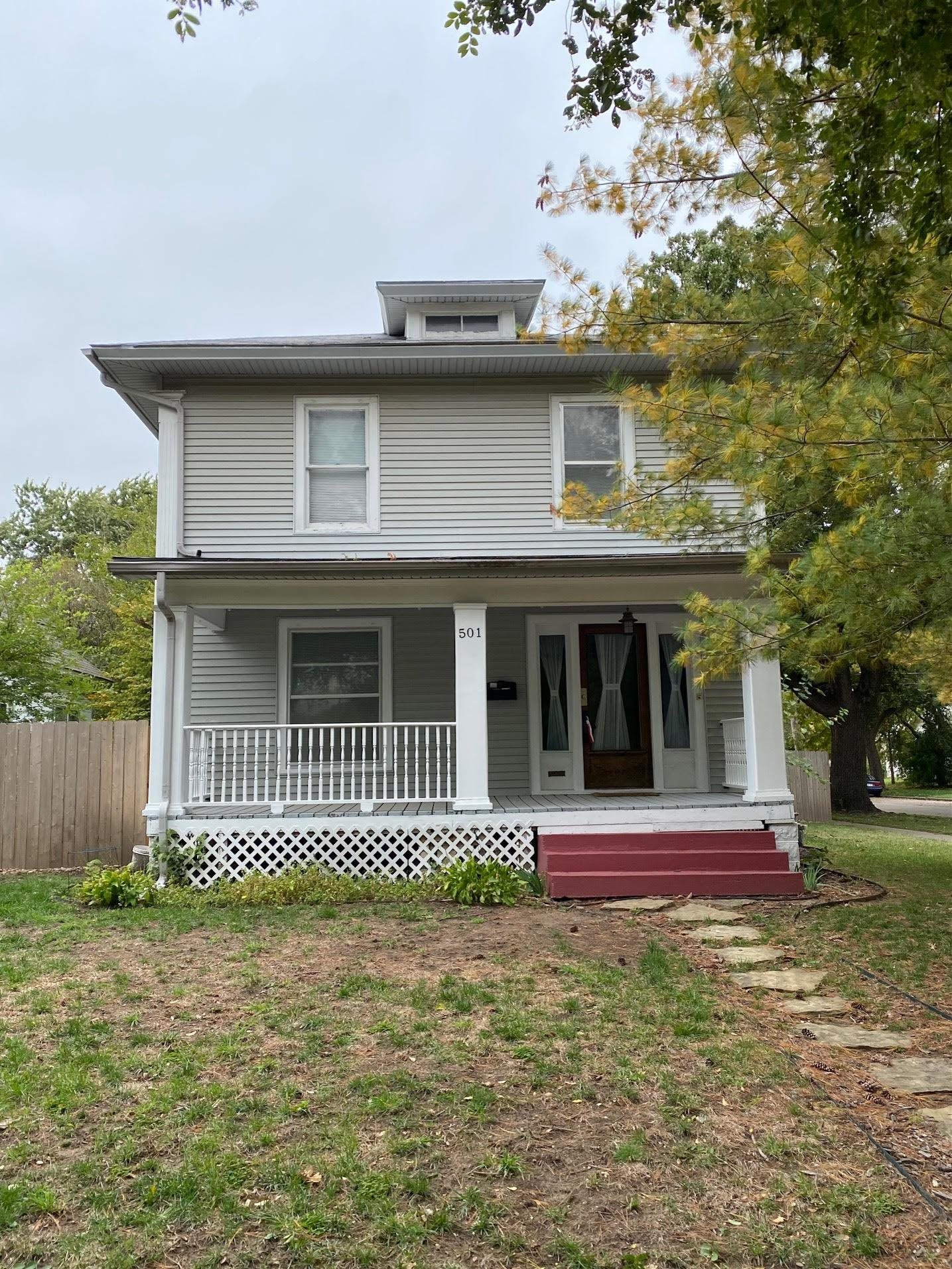 Historic home with LOTS of character in the Delano area. Right down the street from beautiful Friend