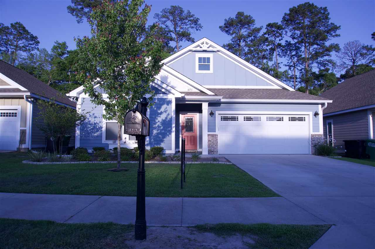Nestled in the heart of Killearn Lakes this home encompasses the best attributes of Tallahassee. For those with children at various ages, you will be glad to know that all K-12 learning facilities were given an A rating for the 2019 school year. Within 10 minutes you can enjoy popular eateries and bars at Bannerman Crossing.   With construction being completed by Premier Homes in 2017.  This Elaina model home features  3 bed   2 bathrooms with premium upgrades such as hardwood floors, granite counter-tops and a screened in porch. Unlike most other homeowner associations your annual contribution includes lawn-maintenance. If you needed any additional perks, this home still has nearly seven years remaining on its construction warranty.