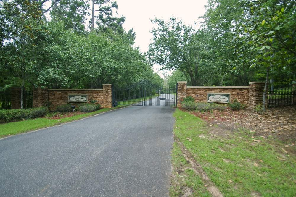 Build your dream home on this gorgeous lot of 3.01 acres. This land was sold for $138,000 in late 2004. Elite gated community of Meridian Oaks in North East Tallahassee, neighboring Summerbrooke, Oak Grove and Ox-Bottom. Houses are priced for $620,000 to $695,000 plus. Located in a desirable school zones, close proximity to great restaurants, parks and shopping areas. This is the last perfect Square shaped lot in Meridian Oaks, situated on quiet cul-de-sac. Hard to find this huge perfectly sized lot in this area. Survey is available.