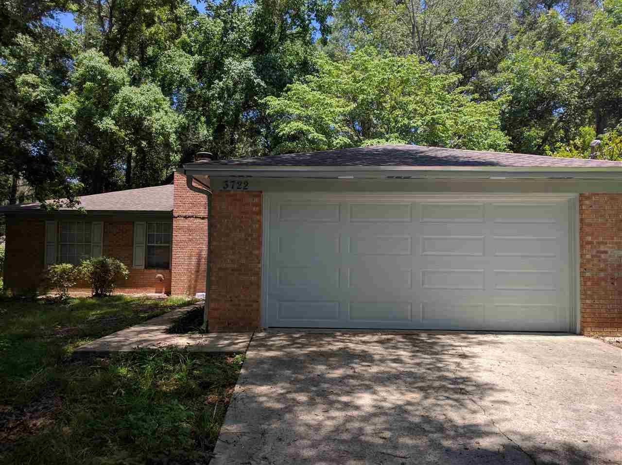 4 Bedroom 2 Bath with garage Rental Available Middle of August. Fenced in backyard. No Pets
