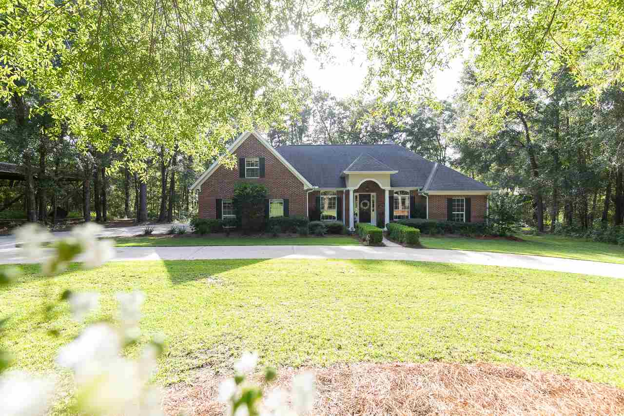 Rare find elegant brick home on 3.64 acres!! Located peacefully at the end of a private drive in sought after Ox Bottom Rd area with excellent schools. Room for expansion on the property– build a completely separate in-law/guest house or sparkling pool with outdoor living area! Designer details & very well maintained. Plenty of space for entire family; split 4 bedrm plan, seperate office AND bonus/theatre rm. Extra large pole barn with concrete flooring that currently has professional batting cage– a great area for RV, boats, big toys etc. No HOA but nicely maintained by the other few owners. Back yard backs up to city maintained area where the family has bonfires and get togethers. Great area for outdoor events and gatherings with tons of parking.