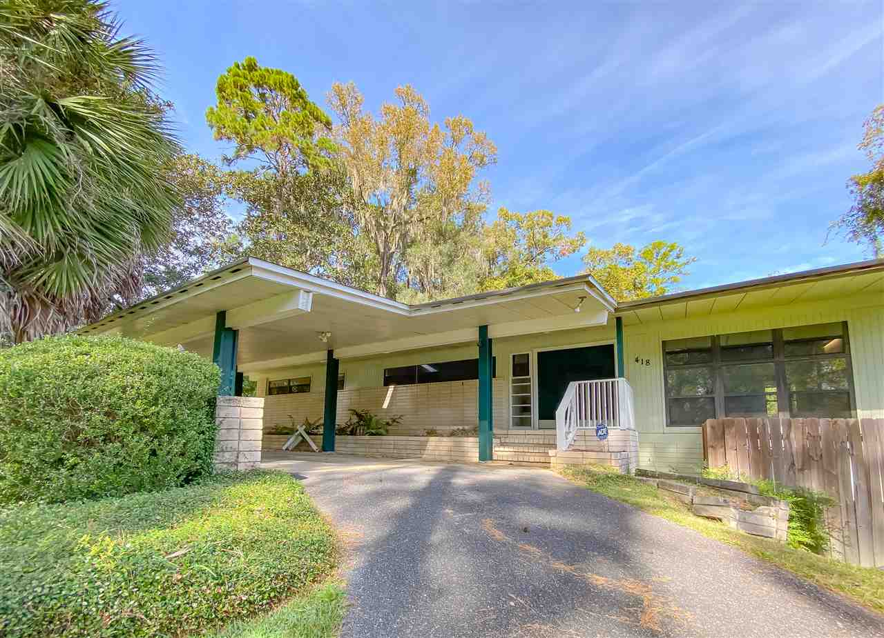 **INVESTORS CHECK OUT THIS PRICE PER SQUARE FOOT! Most recent updated comparable SOLD over $200/SF! Amazing investment with amazing equity potential!** Welcome to North Ride in the very center of Tallahassee! This mid century modern style home sits in the most coveted of locations and is priced well below surrounding homes. With great bones, this property makes the perfect flip, buy and hold investment, or opportunity for a multigenerational family to come in and make it their own while holding an incredible amount of equity! This home features a finished downstairs apartment large enough to make a second home! Perfect for the college student or in laws. With a newer roof and AC system, the pricier upgrades have already been done for you! Come check out the potential today!