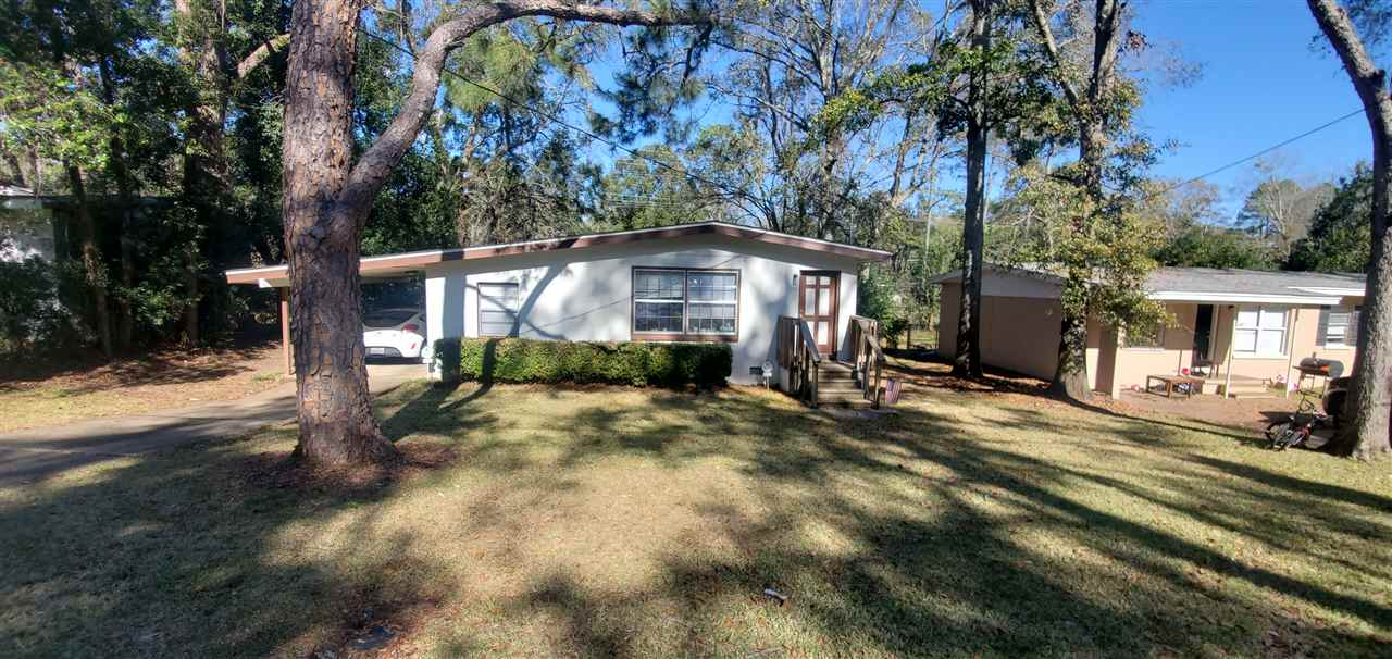 ** 24 hour notice for showing. ** GREAT LOCATION, CLOSE TO FSU AND DOAK STADIUM! This 3 bedroom, 1 bathroom FULLY RENOVATE home would be ideal for your college student, or investor and include hardwood floors throughout, washer/dryer, dishwasher, central heat and air, ceiling fans fenced back yard with large deck. The house has 1 car carport, and driveway for additional parking. Currently rented thru July 2021 for $1095 a month.