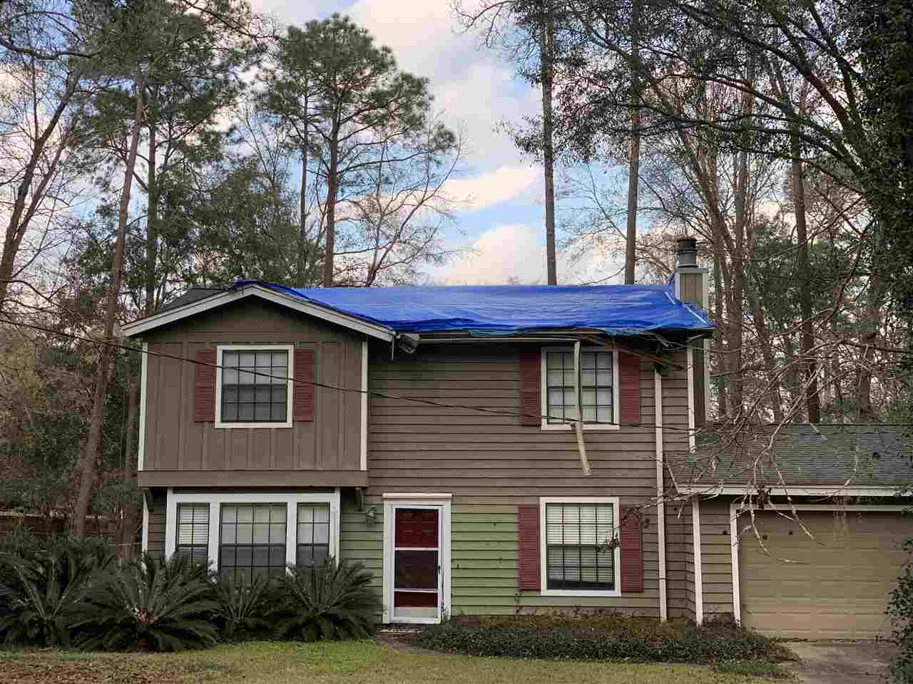 TLC needed. Great location in the lovely subdivision of Killearn Acres. 4bd/2.5ba; 1869 sf; 2 car garage; 0.46 acre lot. Great school zone.