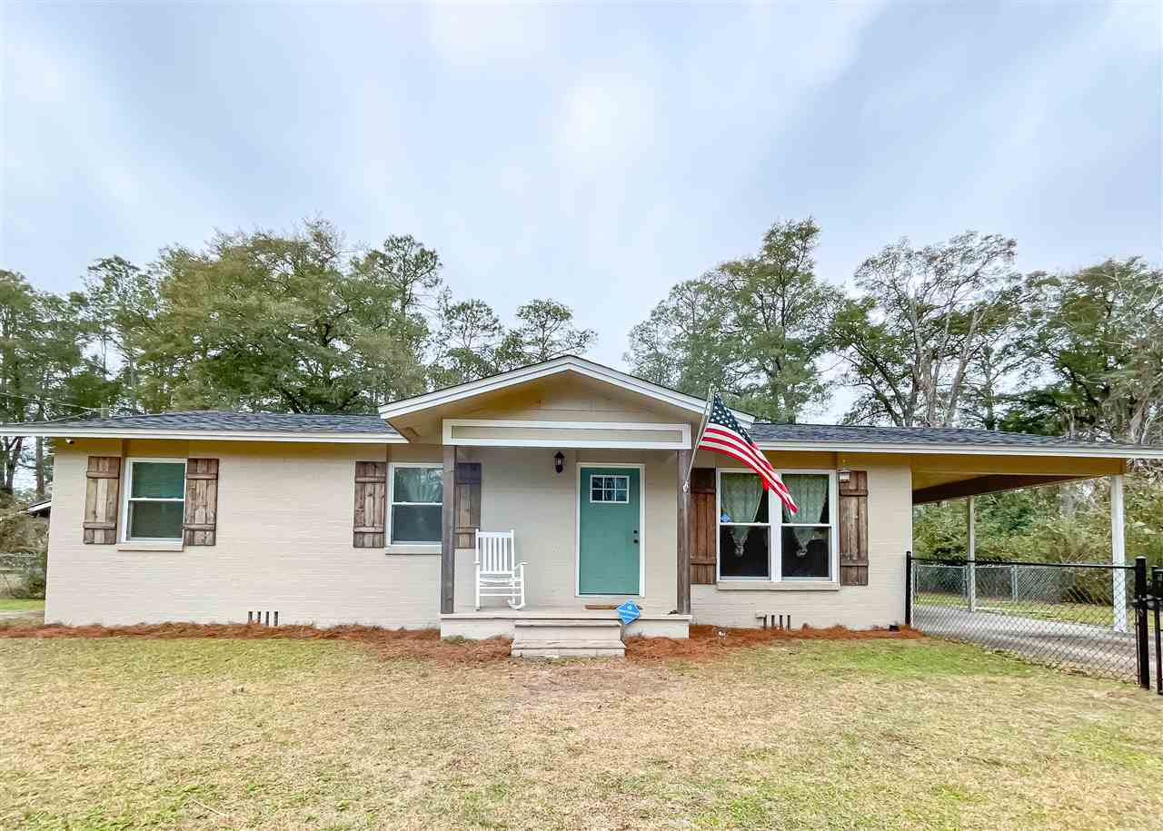 Adorable, completely renovated 3 bedroom home on over a quarter acre right inside the city limits! Everything here is brand new since 2017, including roof and AC! Plenty of fenced in area for kids and pets. All stainless kitchen appliances stay. Come see this gem today!