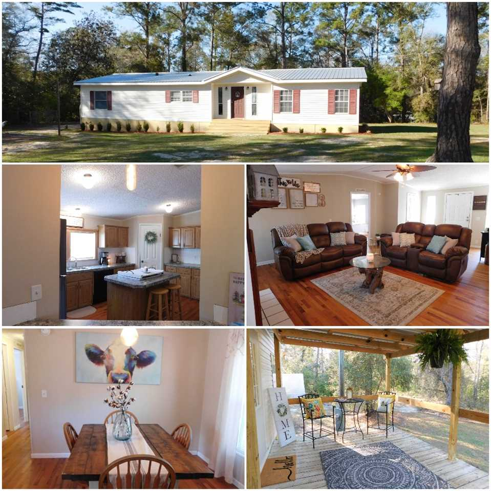 WOW! Check out this PRIVATE little gem on 6 (feels like 10) BEAUTIFUL, buildable, not in a flood zone, acres out at Lake Talquin which back to the Apalachicola National Forest! Super cute, and minutes to the Lake and Ochlockonee River! Gated key fob or key pad entry, NEWER METAL roof 2018, wood floors throughout, NO CARPET, NEWER HVAC 2016 and NEWER water heater 2016, NEWER septic 2016, NEWER well pump 2018 and NEWER water filter system, minutes from boat ramps on the lake and river. This is your outdoor paradise! Feel like you are on vacation out here everyday on this gorgeous piece of property not too far from town and still in Leon County! Come see this one FAST before it's gone!