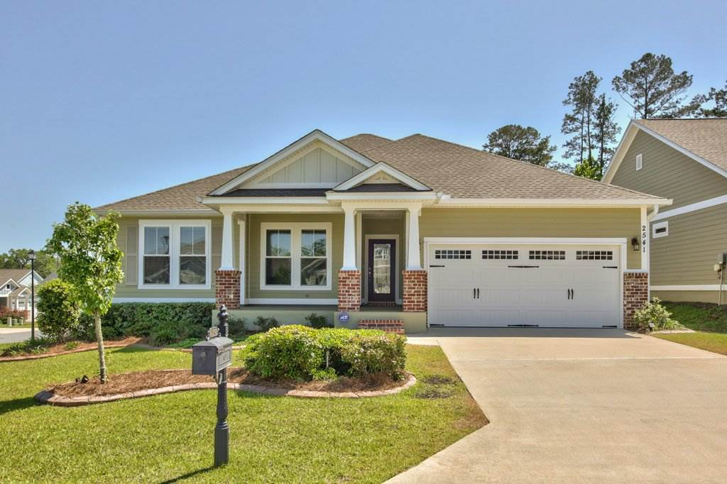 This green certified 2017 Ox Bottom Crest home is situated on a corner lot that has been professionally updated by Tallahassee Creative Curbing, LLC to create an ideal outdoor retreat. The home offers an open floorplan and spacious kitchen island for your entertaining needs. Enjoy the fireplace on cold evenings. Step away from your home office and enjoy the park-like garden and patio.