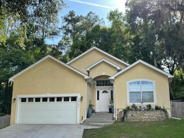 This Forsythe Park home has several 2018 updates and sits on a cul de sac with a privacy fenced backyard that has a park-like setting. This home boasts the same floor plan as the home across the street that received multiple offers within the first 3 days on market. If you are looking for a home in NE Tallahassee under $300,000.00, then you won't want to miss seeing this home!