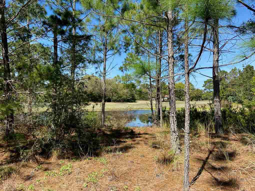 Beautiful lake front lot overlooking the tee box of hole 10. Great location within walking distance of the clubhouse, driving range, pool, tennis courts and Crooked River Grill.