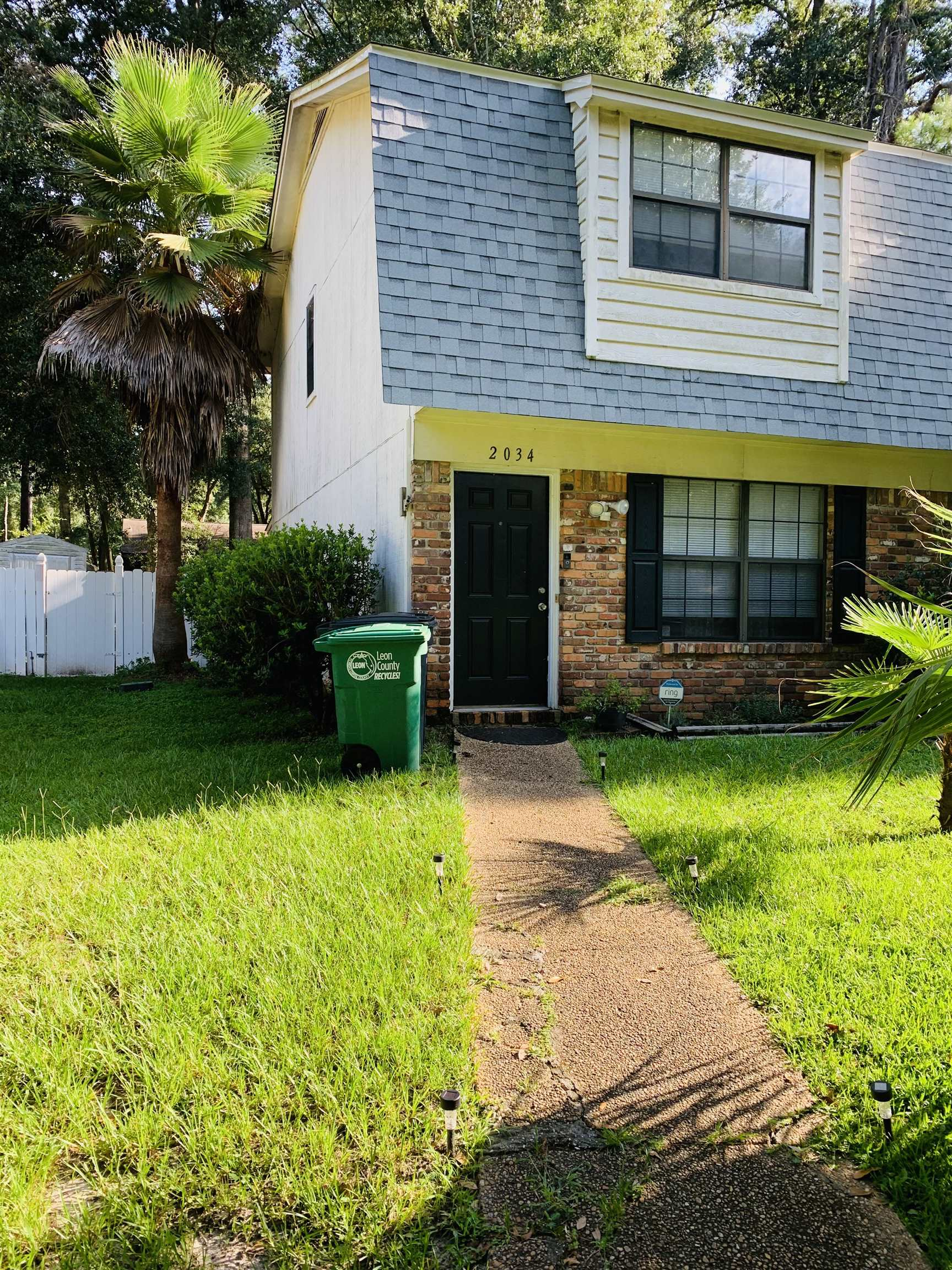 Desirable location, close to  downtown area with a quaint and peaceful feel. This town house was remodeled in 2013, roof was replaced in 2019, A/C was put in in 2012, A 4 point inspection was done within the past year. Home has a large privacy fenced yard. There is a large 8x16 metal storage building that can stay or can be removed by owner. This shed offers a lot of storage space. A comfortable 2 bedroom (both rooms upstairs), two bath home great for a new home owner or investor. Has plenty of closets; linen, vacuum, pantry and bedroom. Tile and laminate flooring throughout the home. Enjoy a restful evening on the screened in back patio or a fire in your private back yard.  The pet door allows easy access for your furry friends. The laundry room is inside the screened area allowing a cozy place to do laundry and not heat up the home. The townhouse is currently under lease until March 2022. Come see this gem of a home it won't last long. Rooms dimensions to be verified by buyers.