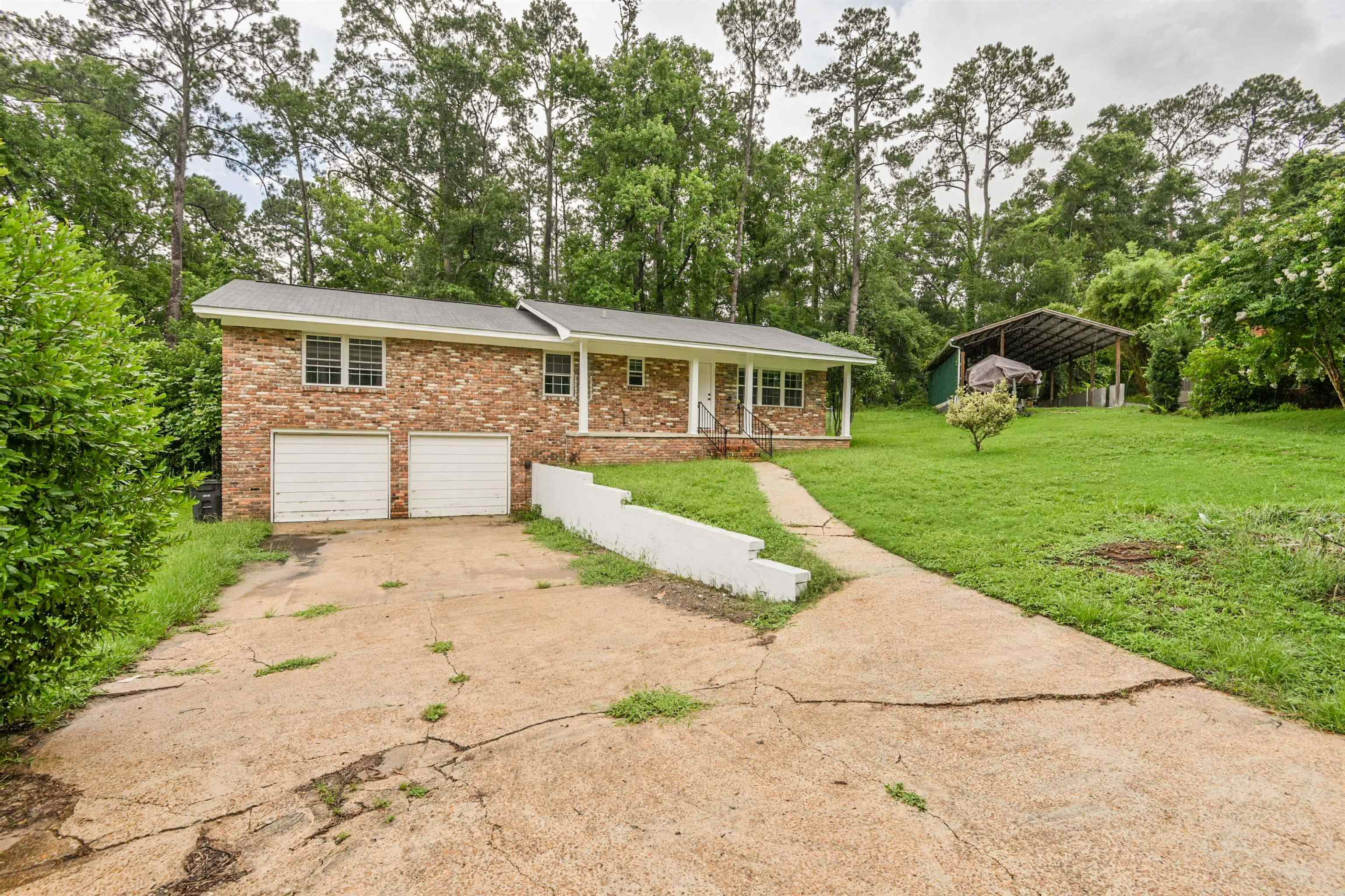 *Seller willing to give $4500 in closing costs in lieu of updates or repairs. * Roof-2016, A/C 2015, Water heater 2021.  Come check out this all brick home that's close to I-10 in the Lake Jackson area. The home is located close to many businesses and restaurants. It has a nice sized fenced back yard; plenty of room for gardening and kids or pets to play. The hard wood floors have recently been refinished and the home has fresh paint inside. Enjoy cooking in the spacious kitchen that has refinished cabinets and ample counter space. Enjoy siting on your front porch or hanging on the side patio. The home is in great shape and just needs a few touches to make it your own!