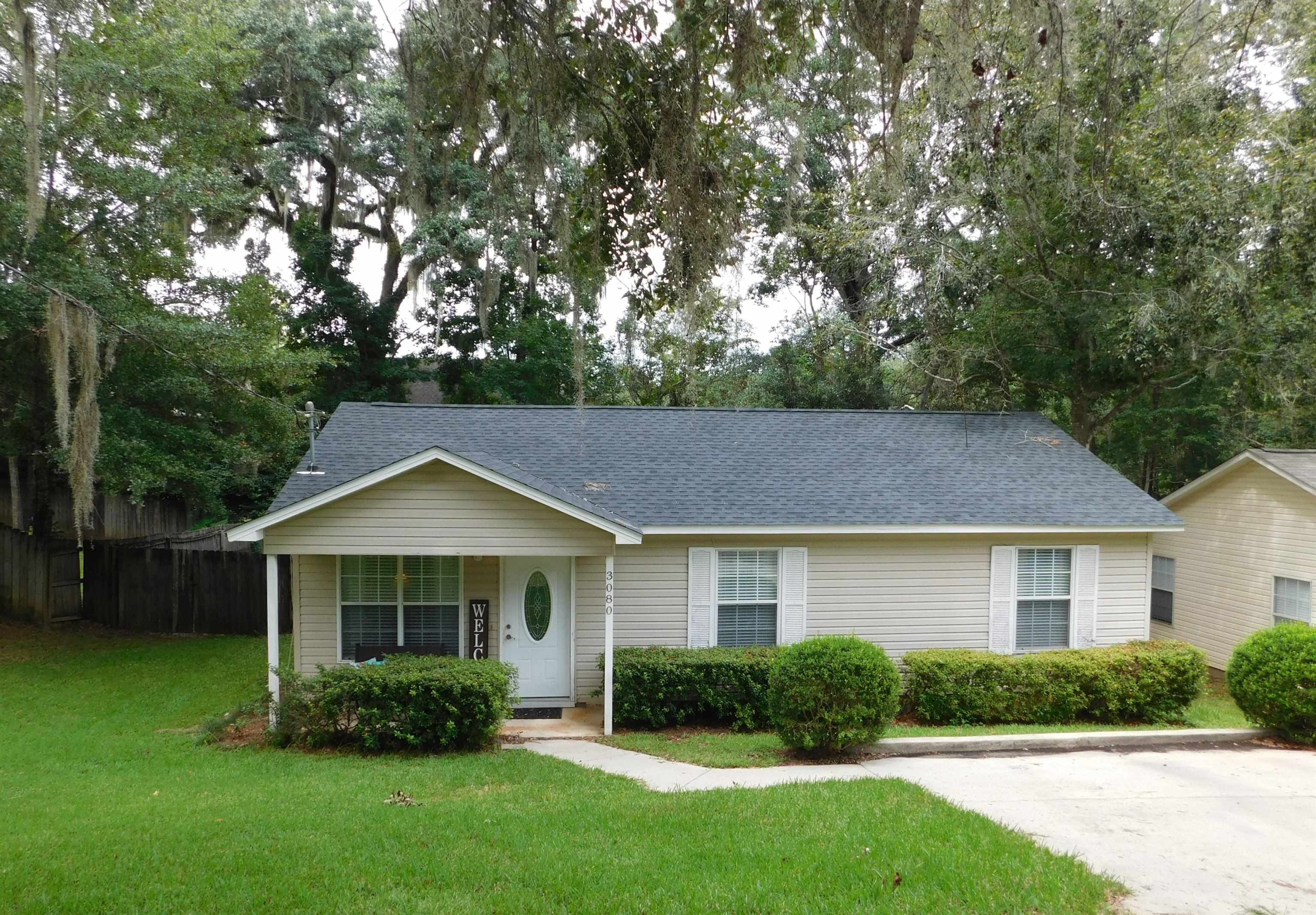 WOW! LOCATION, LOCATION, LOCATION on this super cute 3/2 located between Park Avenue and Apalachee Parkway for UNDER 200K!!! This cute little home is in central Tallahassee and close to everything. SO close to downtown. BRAND NEW ROOF 2021!!!! Water heater 2014, and HVAC 2015. This one has great square footage and lives SO large with separate living and family room areas. The HUGE family room off of the back of the home is perfect for a large den or movie room. Tons of windows in this one providing TONS of natural light. The large back family room overlooks the large FENCED and PRIVATE back yard! Large master bedroom has large walk in closet. Plenty of closet space in this one. The huge back yard would be perfect for a large shed. Come see this one today as it will NOT last!