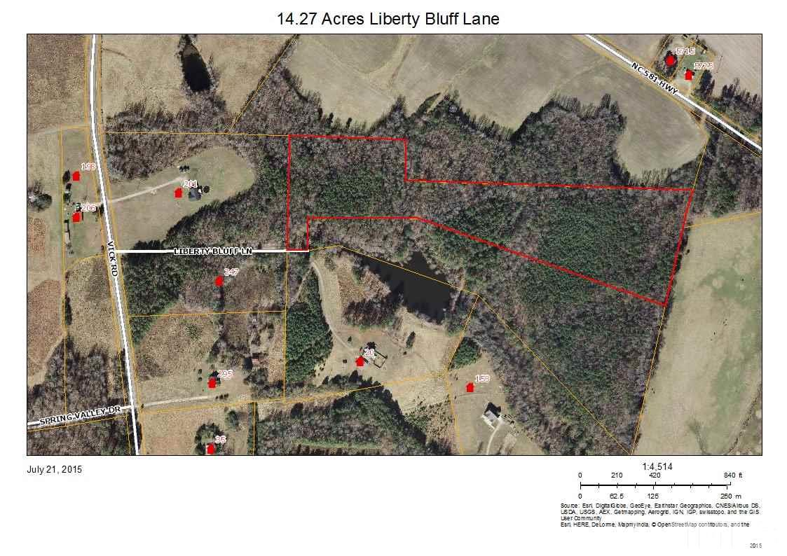 Property for sale at 00 Liberty Bluff Lane, Spring Hope,  NC 27882
