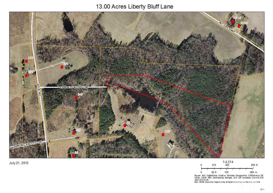 Property for sale at 000 Liberty Bluff Lane, Spring Hope,  NC 27882
