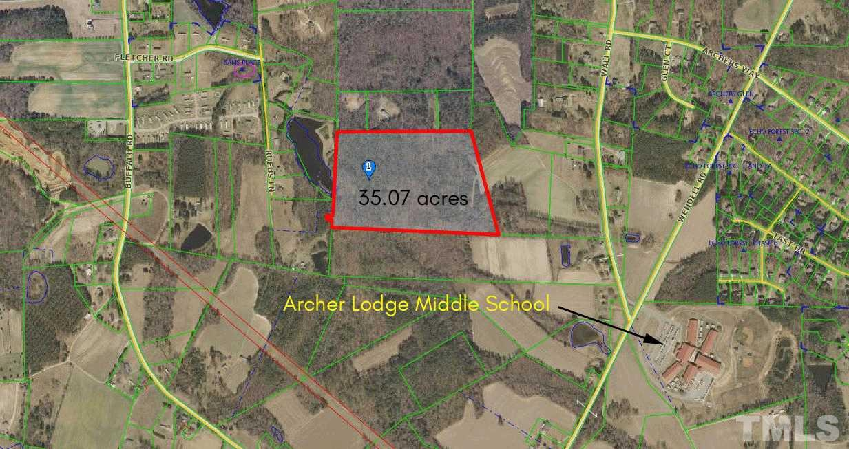 Property for sale at 000 Wall Road, Archer Lodge,  North Carolina 27527