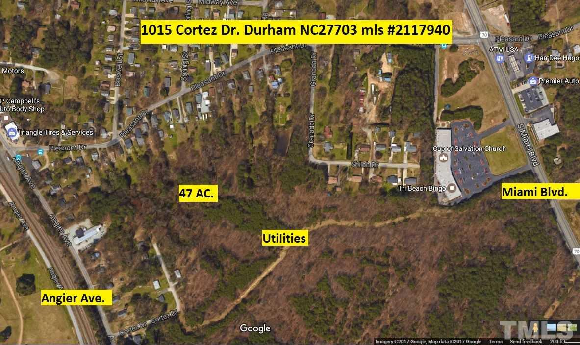 Property for sale at 1015 Cortez Drive, Durham,  NC 27703