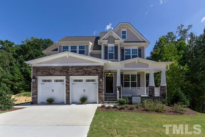 460 Cedar Pond Court, Glenmere, Knightdale NC (Homesite 200) - $400,000